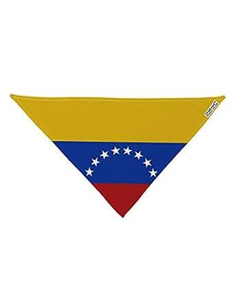 Amazon.com: TooLoud Venezuela Flag AOP Printed White Dog Bandana ...