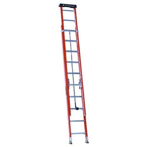 LOUISVILLE LADDER L-3022-20PT FBG 1A Ext Ladder, 20'