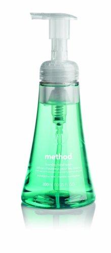 Method Foaming Hand Soap, Eucalyptus Mint, 10 Ounce Bottles (Pack of 6)