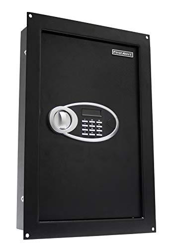 First Alert 1037290 Digital Access Wall Mount Safe, 0.85 cu. ft (First Alert 94 Cu In Fireproof Waterproof Safe)