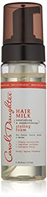 Carols Daughter Hair Milk Nourishing & Conditioning Styling Foam