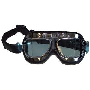 Emgo Red Baron Goggles - One size fits most/Stainless Steel Emgo Goggles
