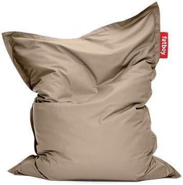 Fatboy/® Original Outdoor Beanbag//Poltrona a Sacco Cuscino di Seduta Pouf Classico per Esterni Tortora 180 x 140 cm