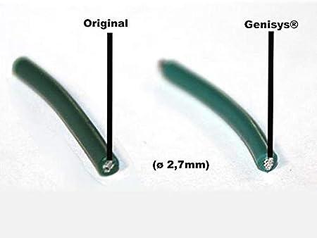 Cable de limitaci/ón de Robot cortac/ésped /Ø2,7mm en el Carrete de Cable HQ genisys Robomow Comp Longitud:10m