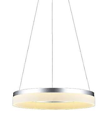 Luz de techo genérico acrílico anillo LED lámpara colgante ...