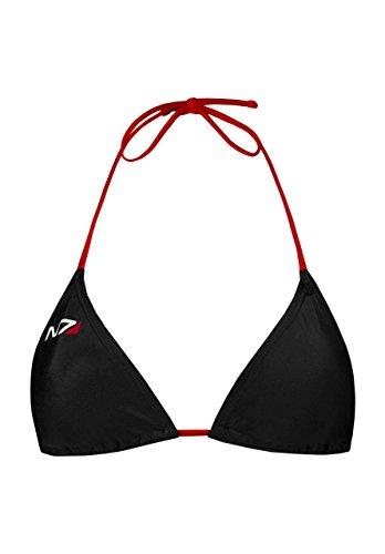 Bikini Abbigliamento Mass musterbrand videogioco N7 Commander Nero Donna Effect Rv4wCqH