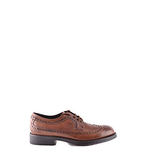 c532e3612 Tod's Men's MCBI069076O Brown Leather Lace-Up Shoes lovely - rudlin ...