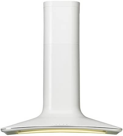 IKEA HARMONISK - Wall campana extractora montada, blanco - 85 cm: Amazon.es: Hogar