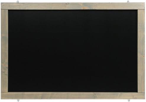Kolonial, 60x90cm Rustikale Tafel Kreidetafel Wandtafel K/üchentafel mit Holzrahmen zur Beschriftung mit Kreide im Landhausstil in verschiedenen Gr/ö/ßen und Farben