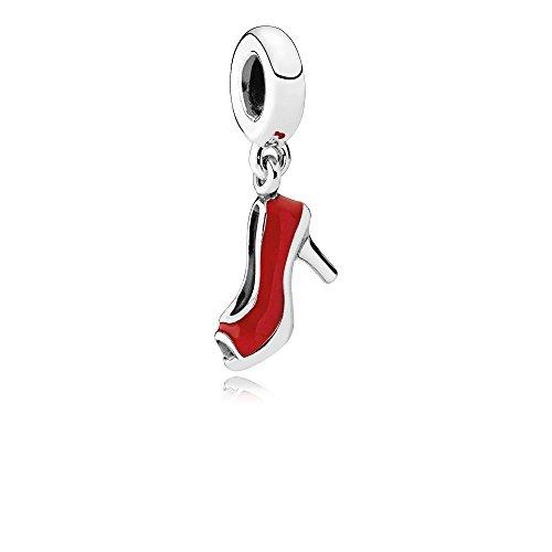 PANDORA Stiletto Dangle Charm, Sterling Silver & Red Enamel ()