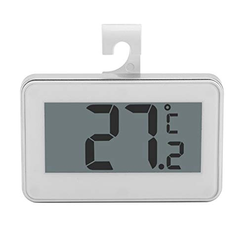 Termómetro para refrigerador, congelador digital impermeable con ...