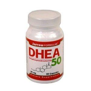 Jarrow Formulas DHEA (déhydroépiandrostérone), 50 mg, 90 gélules (pack de 2)