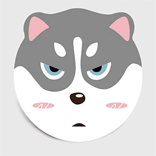 Lovely Cartoon Animals Round Carpet Rugs Children Climbing Non-Slip Rug Floor Mat Living Room Bedroom Kids Room Play Pad Area Rugs, Diameter 1.3ft