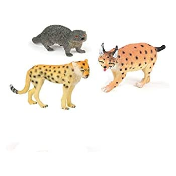 Amazon Com Blue Green Novelty Fun Toys Realistic Animal Toy Figures