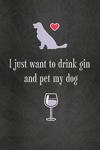 Lined Notebook with Quote - Gin Gifts for Women, Gifts for Gin Lovers (Gag Gifts)