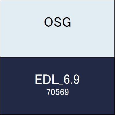 OSG エンドミル EDL_6.9 商品番号 70569