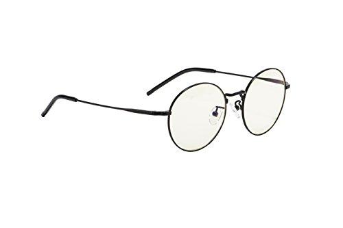 GUNNAR Gaming and Computer Eyewear/Ellipse, Clear Tint - Patented Lens, Reduce Digital Eye Strain, Block 35% of Harmful Blue Light