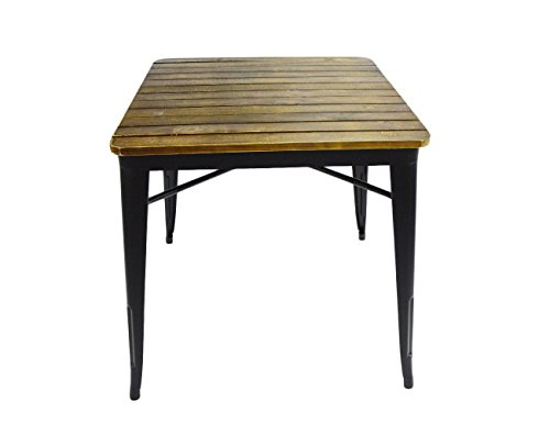 Vilavita Square Pine Wood Garden Patio D - Wood Garden Dining Table Shopping Results