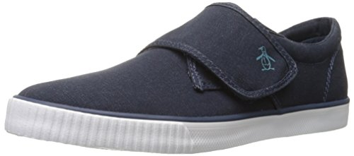 Original Penguin Mens Vulc Bracelet Mode Sneaker Robe Bleu