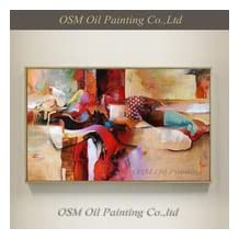 High Skills Artist 100%Hand-painted Abstract Bull Oil Painting On Canvas HandmadeHand-painted High Quality Modern Abstract Sexy Girl Oil Painting On Canvas Nude Sex Oil Painting Bull Painting For Office Decoration