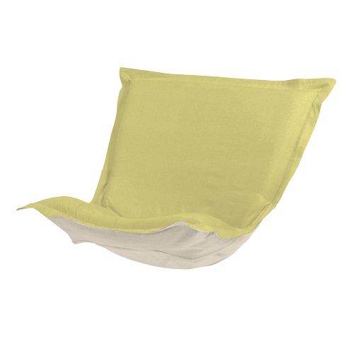 Howard Elliott 300-204P Puff Chair Cushion, Sterling Willow (Rocker Puff Chair Scroll)