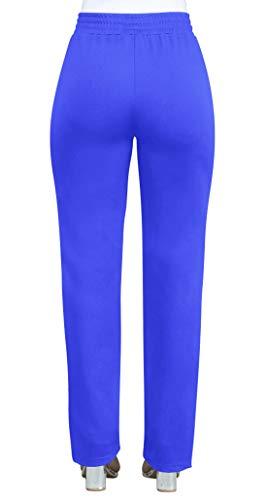 Coutures Pantalons Couture Jeune mode Fashion Bleu Slim Couleur Longues Simple Casual Femme qI14Y