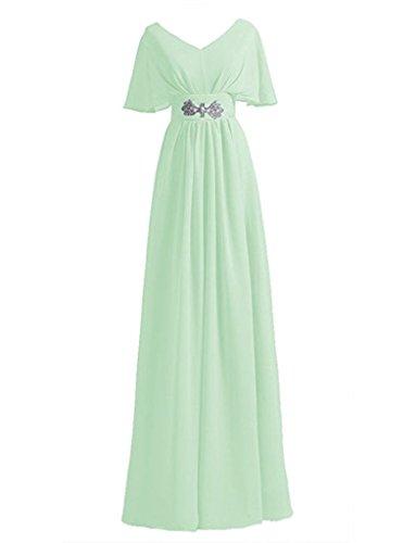 JYDress - Robe - Trapèze - Femme -  vert - 46