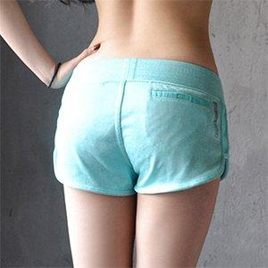 vert L MAYUAN520 Court Pantalon de Course pour Femmes Fitness Workout Gym Sport Yoga Sports courtes Pantalon Court pour Femme Fond élastique S M L
