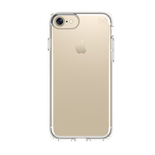 Speck Presidio Clear Case - iPhone 7 Case, iPhone 6S Case, iPhone 6 Case - Patented Slim Protective Case from Speck