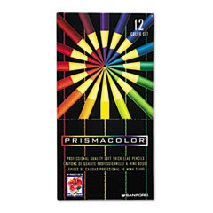 Prismacolor Thick Lead Art Pencils, 12 Color Set (SAN03596) Category: Colored & Drawing Pencils by Faber Castell