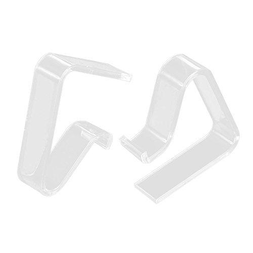 eDealMax Tabla hogar cubierta de Tela Clip abrazadera del soporte 3.5-5cm Espesor 20pcs by eDealMax