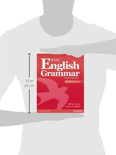 Basic English Grammar with Audio CD, with Answer Key (4th Edition) by Pearson Education ESL