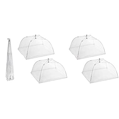 Pop Up Mesh Screen Food Cover (4 Pack) by KOVOT