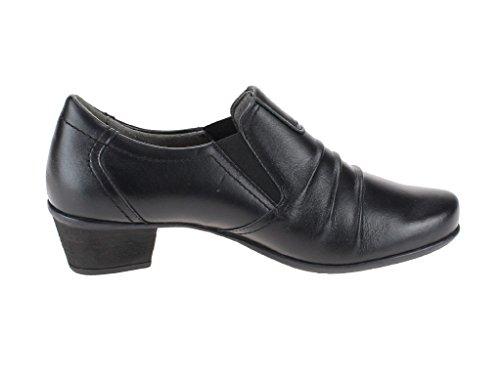 1005665 Women's LONGO Court black Shoes 0 black 5Hawxa1q