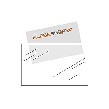 Visitenkartenhüllen Selbstklebend Breite Seite Offen
