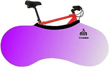 YISAMA Funda Bicicleta Decorativas, Funda Bici Para Interiores, Forro Para Bicicletas Motivo Degradación Lila: Amazon.es: Deportes y aire libre
