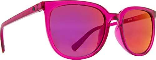 Fizz Classic Sunglasses for Men and for Women | REFRESH Collection by SPY OPTIC (RUBY, GRAY W/RUBY RED ()