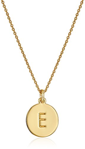 Kate Spade New York ''Kate Spade Pendants E Pendant Necklace, 17'' + 3.5'' Extender by Kate Spade New York (Image #1)