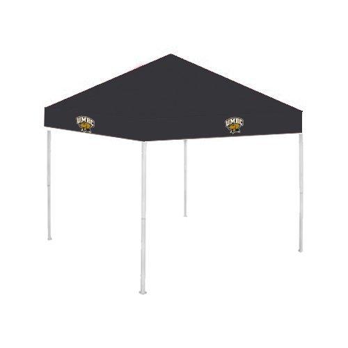 UMBC 9 ft x 9 ft Black Tent 'Official Logo - Arched UMBC w/ Retriever' by CollegeFanGear