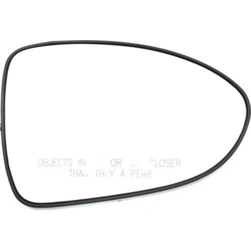 - Kool Vue KA65GR Mirror Glass for Kia Rio 12-17 Right Side With Backing Plate Hatchback/Sedan