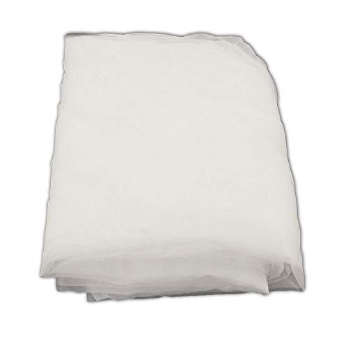 (ETPUVIUMBE 1 Yard 200 Mesh White Color Count Silk Screen Printing Mesh Fabric Polyester White Material)