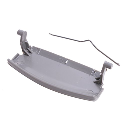 Price comparison product image E-most New Replacement Armrest Lid Console Cover Latch Clip Catch For AUDI A4 B6 02-07 E177B(Grey)