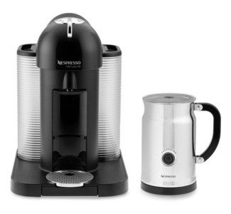 Nespresso VertuoLine Capsule Coffee Machine For Espresso Or Lungo With Aeroccino Plus Milk Frother
