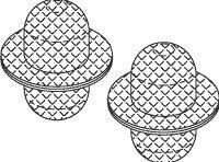 Fill/Vent Mesh Chamber Filter (Stainless Steel) for Midmark - Ritter -