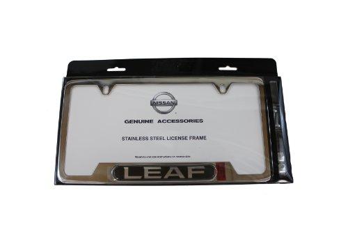 license plate frame nissan leaf - 8