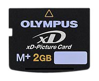 OLYMPUS 2GB XD Picture card Type M+ Retail Package by Olympus (Image #1)