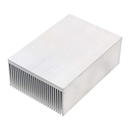 x 36mm Xnrtop Aluminum Heat Sink Heatsink Module Cooler Fin for High Power Led Amplifier Transistor Semiconductor Devices with 100mm x 69mm W H L