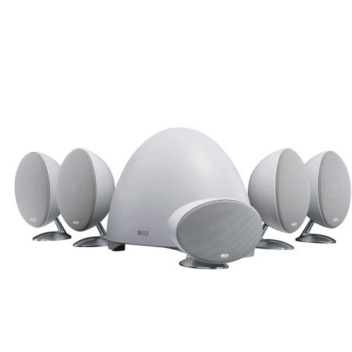 KEF E305WH 5.1-Channel Speaker System - White