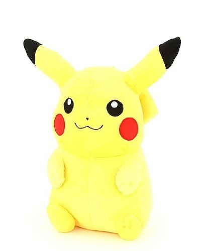 amazon com pokemon backpack plush pikachu doll backpack toys games