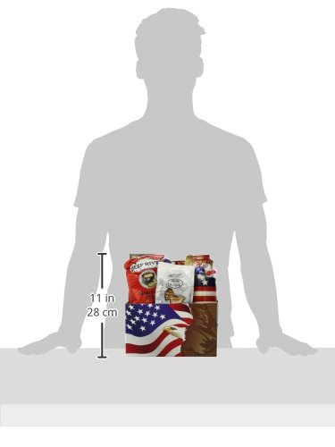 GreatArrivals Gift Baskets Enduring Freedom, Welcome Home Solider or Patriotic by GreatArrivals Gift Baskets (Image #6)